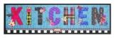 """Küchenläufer / Küchenmatte / Küchen Läufer / Dekoläufer für Küche und Bar / Der Hingucker in Ihrer Küche / Ihre Gäste werden staunen / waschbare Küchenläufer / Küchendeko Modell ,,COOK & WASH """" Kitchen blau - Größe ca. 50 x 150 cm / waschbar auf 30 grad -"""