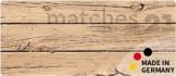 matches21 Küchenläufer Teppichläufer Teppich Läufer Holzbrett 50x180x0,4 cm rutschfest maschinenwaschbar Küchenvorleger -