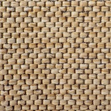 Teppich / Läufer Sabang | Farbe Natur, Sisaloptik | Qualitätsprodukt aus Deutschland | GUT Siegel | kombinierbar mit Stufenmatten | viele Breiten und Längen (66x150 cm) Küchenläufer Flurläufer Teppichläufer -