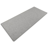 Teppich / Läufer Sabang   silber, Sisaloptik   Qualitätsprodukt aus Deutschland   GUT Siegel   kombinierbar mit Stufenmatten   viele Breiten und Längen (66x150 cm) Küchenläufer Flurläufer Teppichläufer -