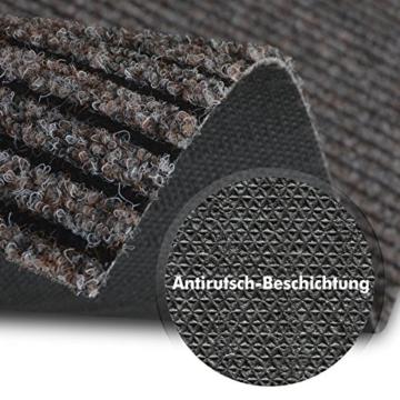 Küchenläufer Granada in großer Auswahl | strapazierfähiger Teppich Läufer für Küche Flur uvm. | rutschfester Teppichläufer / Flurläufer für alle Böden ( 80x200 cm Beige ) -