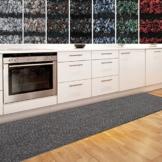 Küchenläufer Granada in großer Auswahl   strapazierfähiger Teppich Läufer für Küche Flur uvm.   rutschfester Teppichläufer / Flurläufer für alle Böden ( 80x200 cm Beige ) -