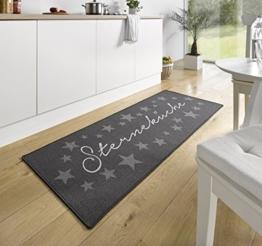 Küchenläufer Küchenmatte Läufer Küchenteppich Sterneküche Grau KL-6 -