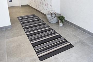 Teppichlaufer Kurzflorteppich Streifendesign Laufer Mit Streifen