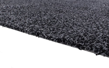 andiamo 700602 Schmutzfangmatte Samson / Waschbare Türmatte aus Baumwolle in Anthrazit für den Innenbereich / 1 x Fußmatte (40 x 60 cm) - 3