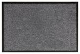 andiamo Schmutzfangmatte Fußabtreter Türmatte Fußmatte Sauberlaufmatte Schmutzabstreifer Türvorleger – Eingangsbereich In/Outdoor – rutschhemmend waschbar grau Polypropylen– 90x150 cm – 5 mm Höhe - 1