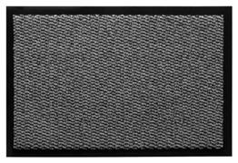 andiamo Schmutzfangmatte Fußabtreter Türmatte Fußmatte Sauberlaufmatte Schmutzabstreifer Türvorleger – Eingangsbereich In/Outdoor – rutschhemmend waschbar hellgrau Polypropylen– 90x150 cm – 5 mm Höhe - 1
