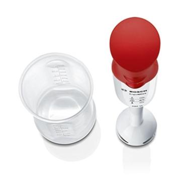 Bosch MSM64010 ergonomischer Stabmixer mit Kunststoff-Mixfuß mit QuattroBlade, 450 Watt - 4