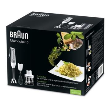 Braun Multiquick 5 MQ 525 Omelette Stabmixer (600 W, 0, 6l) grau - 2