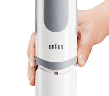 Braun MultiQuick 5 Vario MQ 5035 Sauce Stabmixer, 750 W, Zerkleinerer (500 ml), Edelstahl-Schneebesen, EasyClick System, PowerBell Technologie - 8