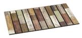 BSM 2000 - Türmatte 76 x 46 cm - Fußmatte - Türvorleger - Schmutzmatte - Schmutzfangmatte - 5 verschiedene Motiv, 95% recycelt, Feuchtigkeitsaufnahme, Schmutzaufnahme, Rutschfest ( Holzplanken ) - 1