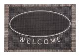 CarFashion 270754A Pur|ScrapClean Design Fussmatte-Schmutzfangmatte – Sauberlaufmatte – Eingangsmatte für Innen und Aussen, TPE-VC 100% Nachhaltig, Bronze Metallic Oberfläche, 59 x 39 cm - 1