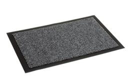 Carpido Nela, FS0610015040, Tuervorleger / Sauberlaufmatte, 100 % Polypropylen, 40 x 60 cm, grau - 1