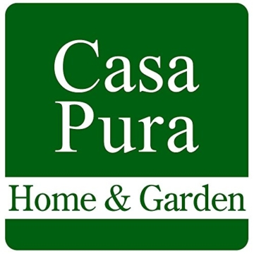 casa pura® Premium Fußmatte in attraktiver Optik | Schmutzfangmatte in 5 Größen | hellgrau | 90x150cm - 4