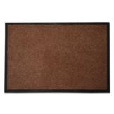 casa pura® Premium Fußmatte in attraktiver Optik | Schmutzfangmatte in 8 Größen | braun | 60x90cm - 1