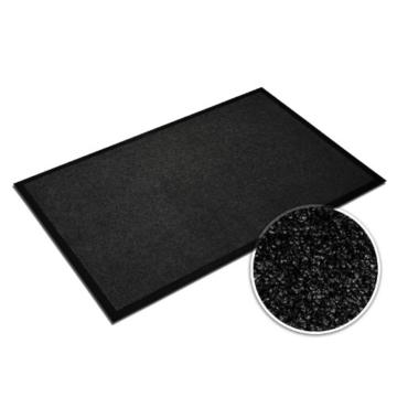 casa pura® Premium Fußmatte in attraktiver Optik | Schmutzfangmatte in 9 Größen | schwarz | 60x180cm - 2