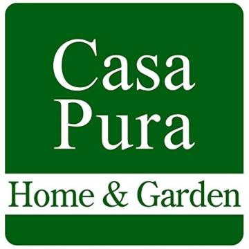 casa pura® Premium Fußmatte in attraktiver Optik | Schmutzfangmatte in 9 Größen | schwarz | 60x180cm - 5