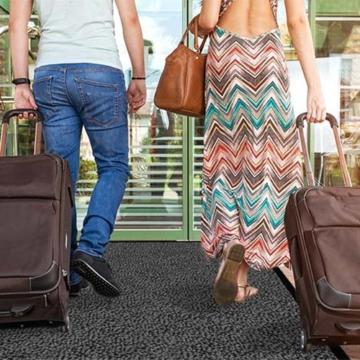 casa pura® Premium Fußmatte / Sauberlaufmatte für Eingangsbereiche   Fußabtreter mit Testnote 1,7   Schmutzfangmatte in 8 Größen als Türvorleger innen und außen   anthrazit - grau   60x90cm - 4