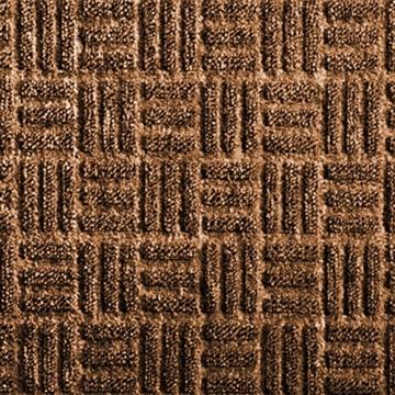 etm® Fußmatte Ocean | für außen und innen | geprägte Struktur für optimale Reinigungswirkung | Schmutzfangmatte in vielen Größen und Farben (Braun 90x150 cm) - 3