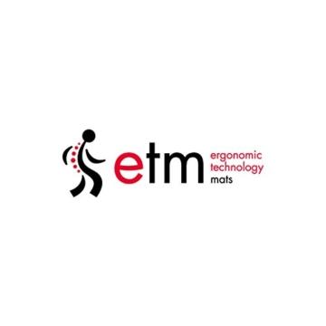 etm® Schmutzfangmatte - Note 1,6: Sieger Preis-Leistung - Fußmatte in vielen Größen - Fußabstreifer für Haustür innen und außen (Ocker-Schwarz, 90x150 cm) - 6