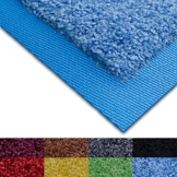 Fußmatte Sky Color | strahlende Farben | Schmutzfangmatte mit Gummirand in passender Farbe | sehr gute Schmutzfangwirkung | Brilliant Blue (50x85cm) - 1