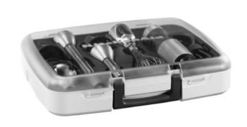 Kitchenaid 5KHB2571ESX Stabmixer mit 5 Geschwindigkeitsstufen, edelstahl - 5