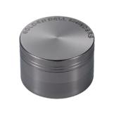 LIHAO Pollen Grinder Crusher für Tabak,Spice,Kräuter,Gewürze,Herb,Kaffee 4-teiliges Set mit Pollen Scraper (Nickel-Schwarz) - 1