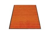 miltex 22020-5 Schmutzfangmatte Eazycare, 60 x 90 cm, waschbar, orange - 1