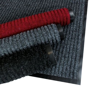 Rapid Teck® Türmatte Fußmatte Schwarz 90cm x 150cm Fußabtreter Schmutzmatte Schmutzfangmatte Türvorleger Matte - 3