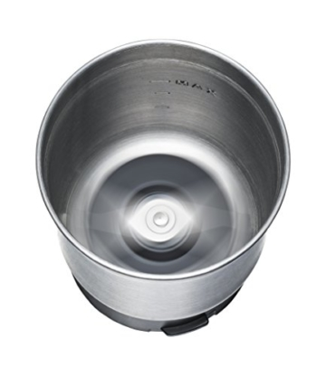 ROMMELSBACHER EGK 200 elektrische Gewürz & Kaffeemühle / 2 auswechselbare Edelstahlbehälter mit Schlagmesser & Spezialmesser / 200 W / Edelstahl - 7