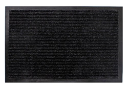 Schmutzfangmatte schwarz - 180 cm x 120 cm - Fußmatte Fußabtreter Türmatte Außen - 1
