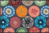 wash+dry Fußmatte Coralis 50x75 cm - 1