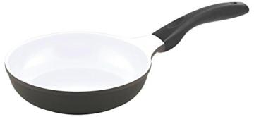 3er Set culinario Bratpfannen, Ø 20, 24 und 28 cm, anthrazit, antihaft und induktionsgeeignet - 2