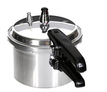 Aluminium Schnellkochtopf 3 Liter Kochtopf Dampfkocher Schnellkocher poliert - 3