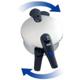 BEEM Sicherheitsdeckel + Dichtungsring für Vital X-Press Schnellkochtopf - 1