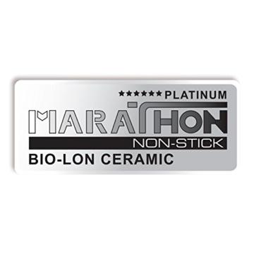 BEEM Vitalplus, 6.0 Liter Schnellkochtopf mit Einhandbedienung und Marathon BIO-LON Ceramic Antihaftversiegelung, Edelstahl - 12
