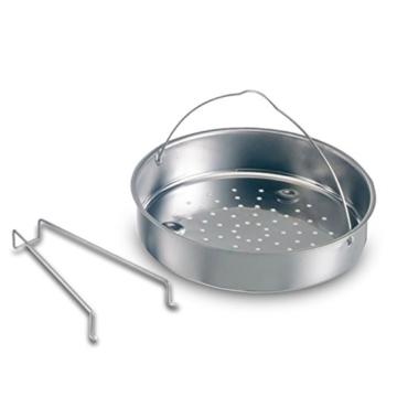 BEEM Vitatherm, 4.0 + 6.0 L Schnellkochtopf mit Einhandbedienung und Marathon BIO-LON Ceramic Antihaftversiegelung, Edelstahl - 5