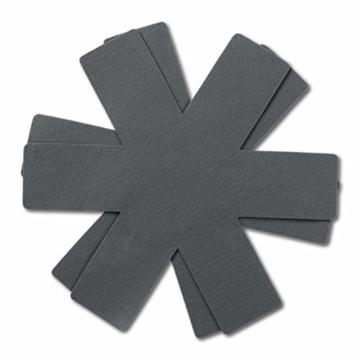 BRATmaxx Keramik-Pfannen Granit-Optik 20/24/28 cm + 2 Pfannenschoner - 7