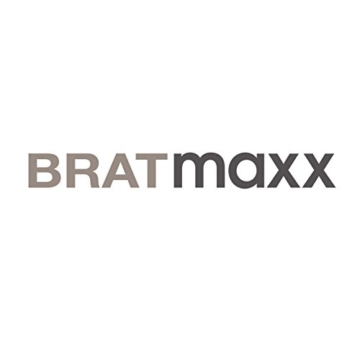 BRATmaxx Keramik-Pfannen Granit-Optik 20/24/28 cm + 2 Pfannenschoner - 8