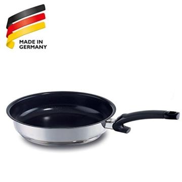 Fissler Pfanne crispy ceramic comfort / Pfanne versiegelt / 28 cm Ø Edelstahl Bratpfanne beschichtet / Induktion geeignet / 138-103-28-100/0 - 6