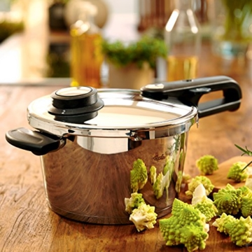 Fissler Schnellkochtopf Edelstahl vitavit premium / 2.5 Liter Dampfkochtopf 18 cm Durchmesser / Induktion, Gas, Ceran, Elektro / 620-100-02-070/0 - 2