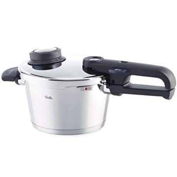 Fissler Schnellkochtopf Edelstahl vitavit premium / 2.5 Liter Dampfkochtopf 18 cm Durchmesser / Induktion, Gas, Ceran, Elektro / 620-100-02-070/0 - 1
