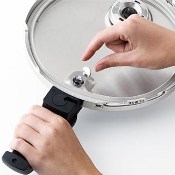 Fissler Schnellkochtopf Edelstahl vitavit premium / 2.5 Liter Dampfkochtopf 18 cm Durchmesser / Induktion, Gas, Ceran, Elektro / 620-100-02-070/0 - 7