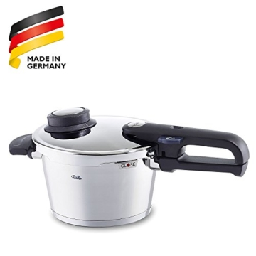 Fissler Schnellkochtopf Edelstahl vitavit premium / 2.5 Liter Dampfkochtopf 18 cm Durchmesser / Induktion, Gas, Ceran, Elektro / 620-100-02-070/0 - 8