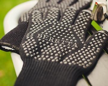 Hochwertige Grillhandschuhe (ein Paar) - Hitzebeständig Bis Zu 500 °C – Nach EN407 Zertifizierte Ofenhandschuhe Aus Kevlar-Nomex Fasern – Kaminhandschuhe Extra Lang - 5