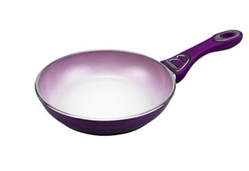 KochWunder Color Change Farbwechsel Keramikpfannen mit Antihaftbeschichtung - 20cm - lila - 1