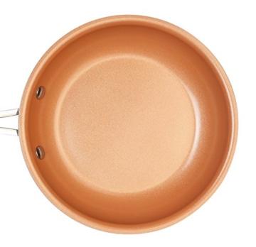 PALEMISO Brat-Pfanne mit Kupfer-Keramik-Titan-Beschichtung (20 cm) - 5