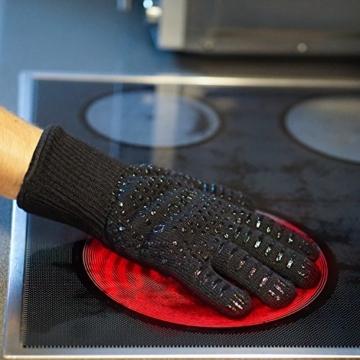 Rawford Ofenhandschuhe,bis zu 500 °C, 1 Paar - 6
