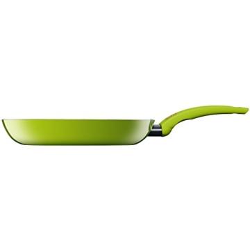 Silit Selara Bratpfanne, Aluguss beschichtet Keramikpfanne Kunststoffgriff, grün, Ø 28 cm - 2
