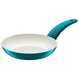 Silit Selara Bratpfanne, Aluguss beschichtet Keramikpfanne Kunststoffgriff, petrol, Ø 20 cm - 1